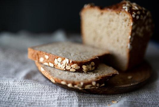 Whole-Grain Oatmeal Bread