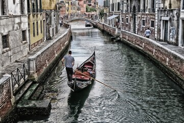 Romantic pictures of Venice and its lagoon Italy