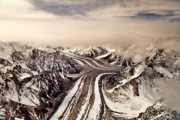 baltoro glacier , biafo glacier, hisper glacier, Karakorum range Pakistan