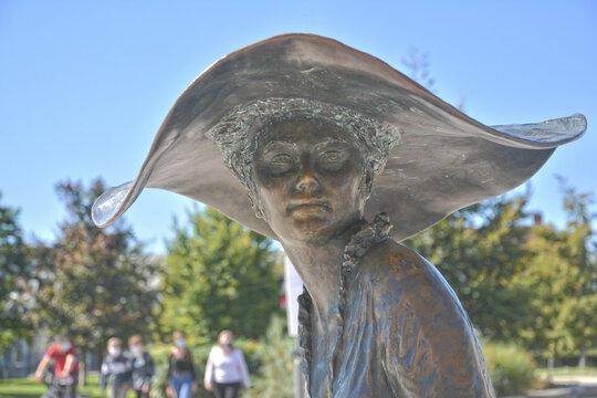 "Sculpture ""Lili"" Troyes (Aube)"