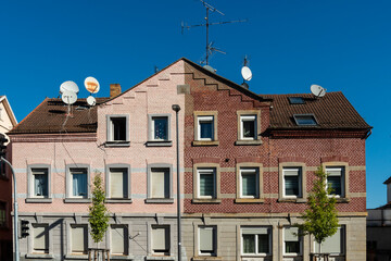Wohnhaus mit Backsteinfassade in Heilbronn