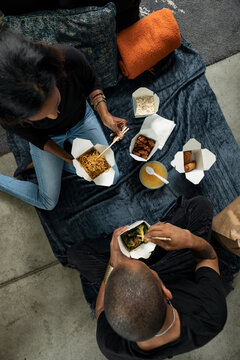 Loft: Overhead Of Eating Chinese Food
