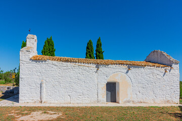 Wiew of an ancient church from the 10th century