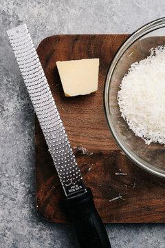 Shaved Parmesan Still Life