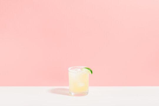 Margarita on pink