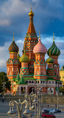 Moscow, Russian Federation/ September 11, 2020; St. Basil's Cathedral