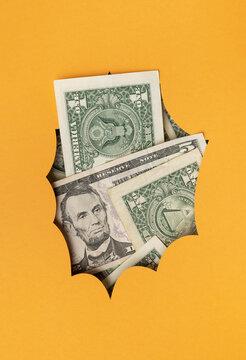 Dollars explosion