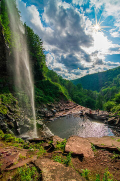 Kaaterskill falls is honestly the best waterfall to visit in Ny state. If youre in the nyc ares its a great way to escape and enjoy nature the drive is about 2 hrs away and believe me you wont regret.