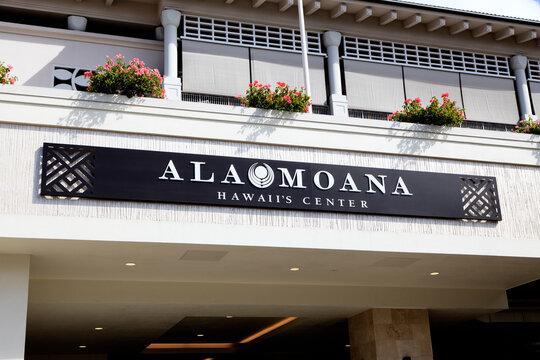Honolulu, Hawaii, U.S.A. - Ala Moana Center: The Ala Moana Center is a large open-air shopping mall in the Ala Moana neighborhood of Honolulu, Hawaii.