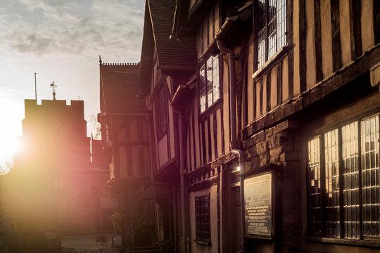 Warwick county town of Warwickshire English Midlands, England UK