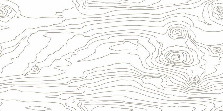 Seamless wooden pattern. Wood grain texture. Dense lines. White background. Vector illustration