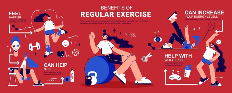 Fitness Infographic Banner
