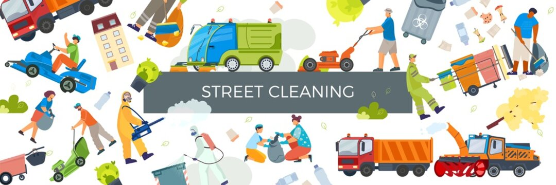 Street Cleaning Pattern Composition