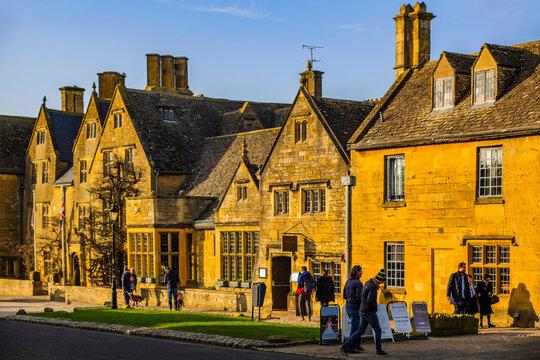 Broadway Cotswold Village Worcestershire Cotswolds England UK