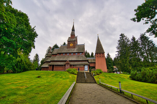 Wooden church in Hahnenklee in the Harz