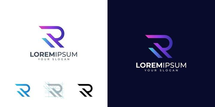 Letter R logo design inspiration