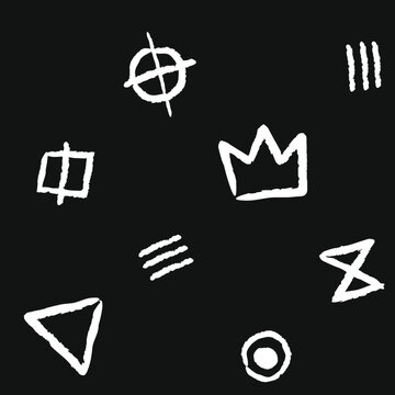 set of icons for design