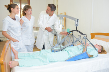 medical equipment for reliable transfers