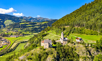 Sprechenstein Castle in South Tyrol, Italy