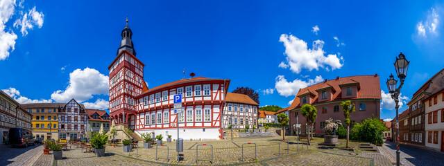 Rathaus, Marktplatz, Treffurt, Deutschland