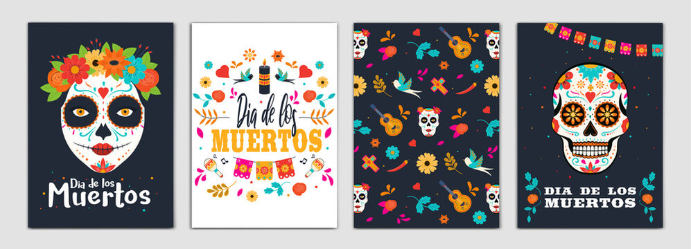 Day of the dead Party Flyer Design