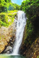 The Biausevu waterfall
