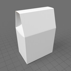 Cardboard cookie box 1