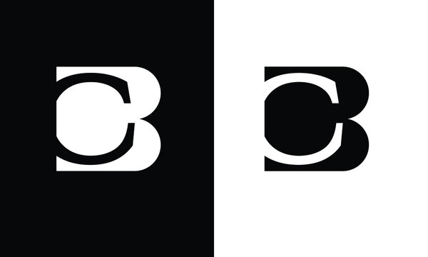 BC ,CB ,B ,C  Abstract Letters Logo Monogram