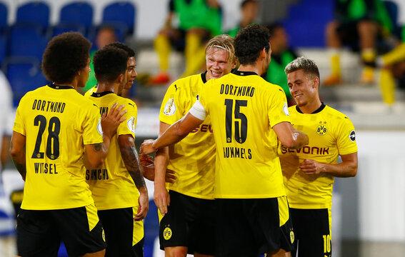 DFB Cup - First Round - MSV Duisburg v Borussia Dortmund