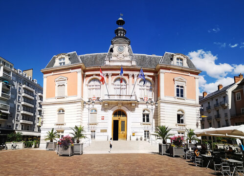 Facade of Chambery Town Hall