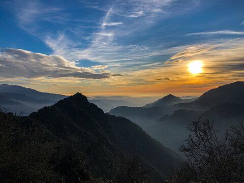 Hoch in den Bergen Kaliforniens