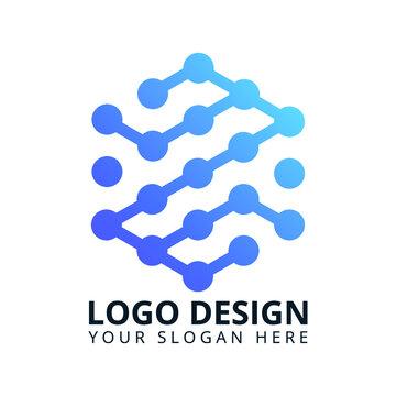 Z Letter Tech Logo Design