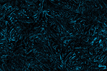 Abstract creative background of colored swirl on black background.