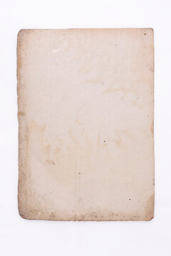 old paper texture on a white background