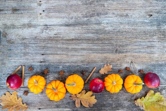 pumpkin on table