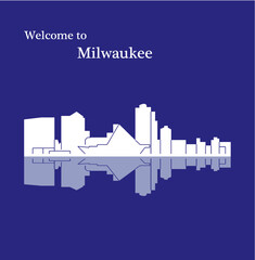 Canvas Prints Violet Milwaukee, Wisconsin ( United States of America )