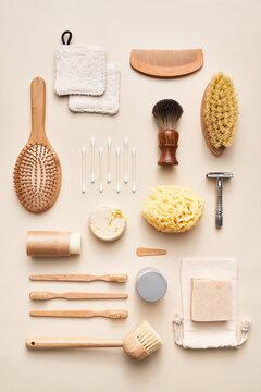 Zero waste bathing supplies composition