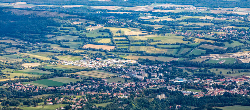 Aerial View of Rural Localitites