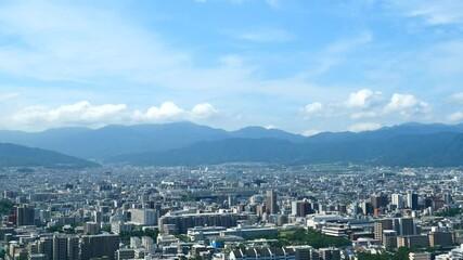 Wall Mural - 都市風景 福岡市 タイムラプス