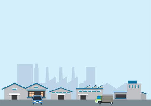 工業地帯風景