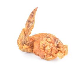 Printed kitchen splashbacks Grocery Fried chicken isolated white background