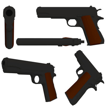 pistol vector photos royalty free images graphics vectors videos adobe stock adobe stock