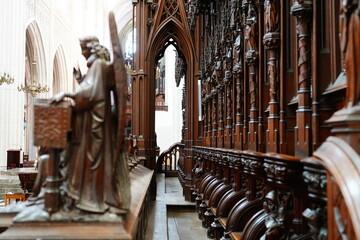 Printed roller blinds Antwerp Antwerp cathedral