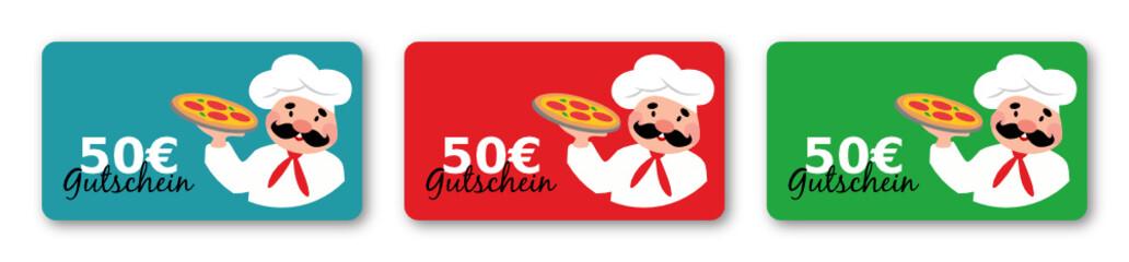 Pizza Gutschein