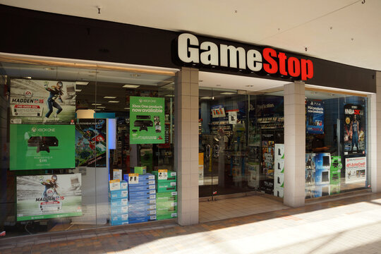 Gamestop store in Ala Moana shopping center