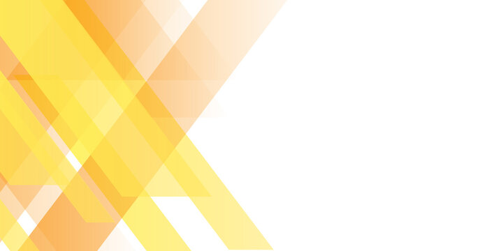 Modern orange yellow white abstract presentation background banner with shiny light