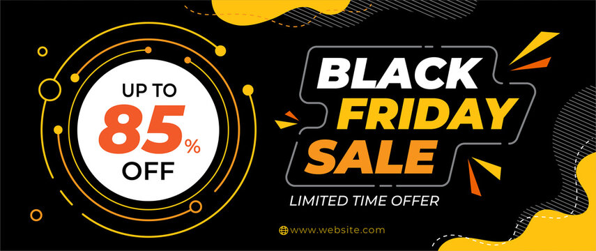 Sale Banner Template, Black Fiday Banner, Big Sale banner Background
