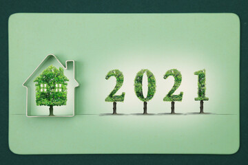 2021 , green house, real estate project