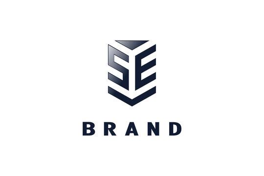 SE letter logo