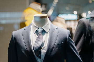 luxury suit in store